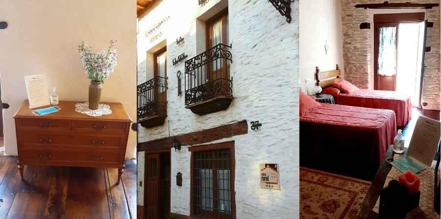 Casa-rural-la-llave-reception-front-door-bedroom-caminoways.com