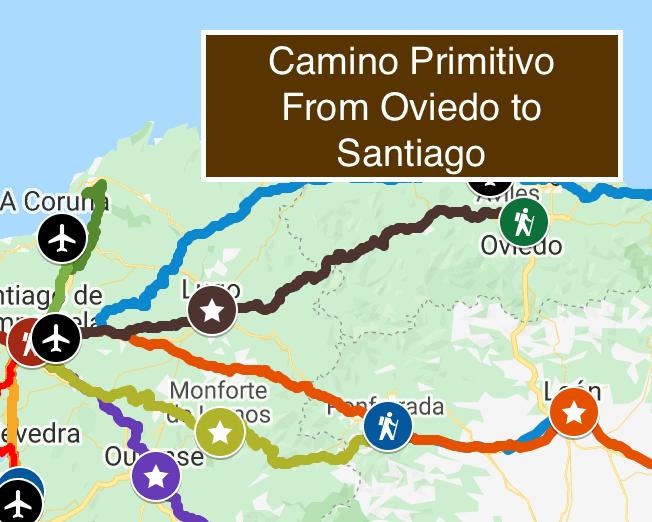camino-primitivo-map-spain