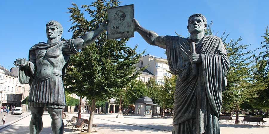lugo-city-roman-statues-camino-ways