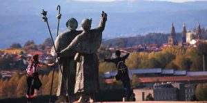 Camino Frances from Sarria to Santiago