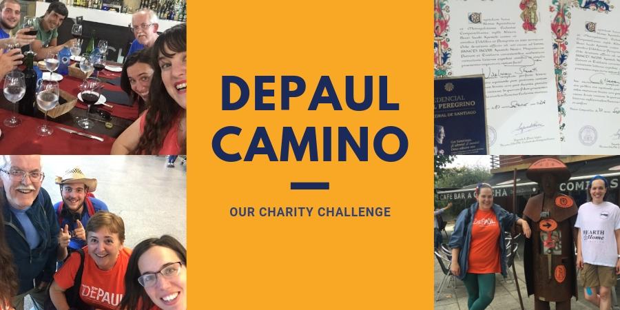 Depaul-charity-trek-fundraising-trip-camino