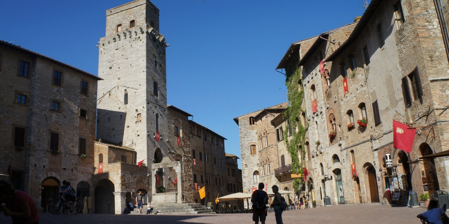 Via Francigena in Tuscany GUIDED