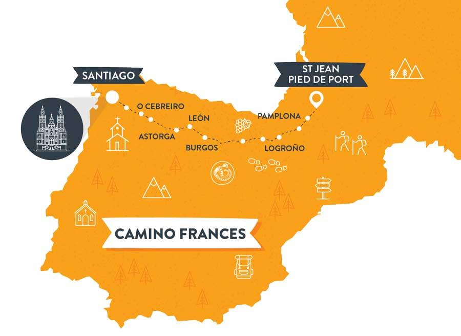 camino-frances-map-caminoways.com