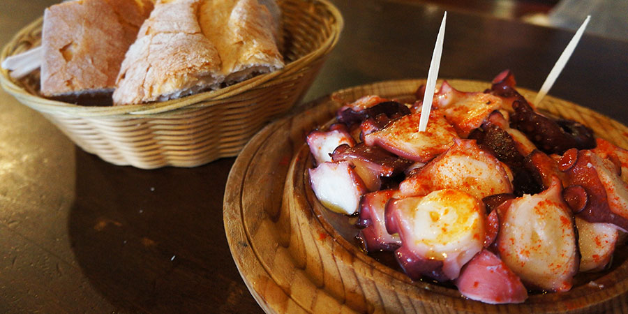octopus-galicia-food-walk-the-camino-de-santiago-caminoways