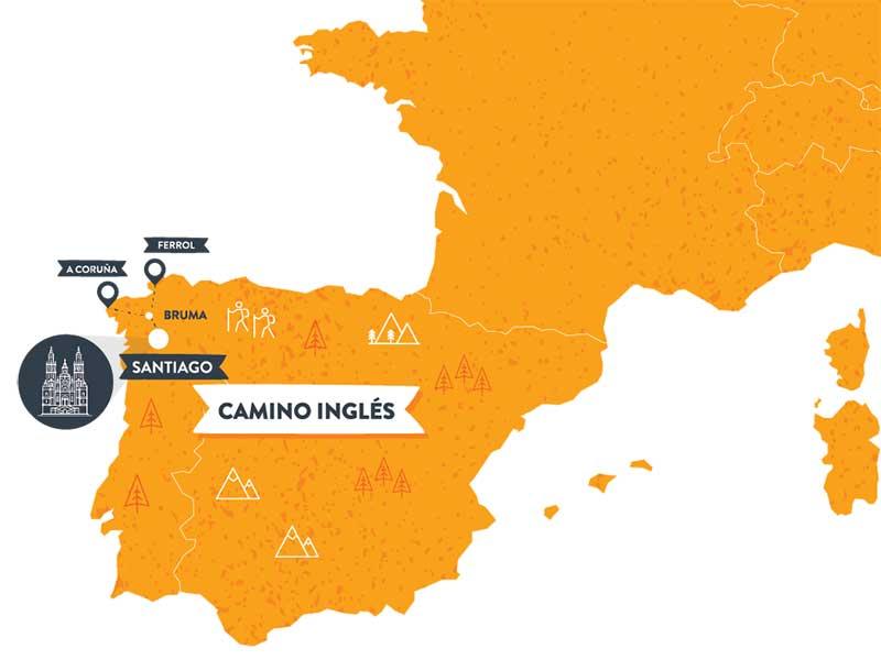 mapa-camino-ingles-camino-de-santiago-caminoways