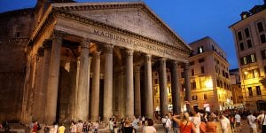 Rome-pantheon-via-francigena-italy-caminoways