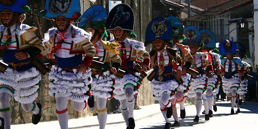 Peliqueiros-Laza-carnival-Galicia-camino-de-santiago