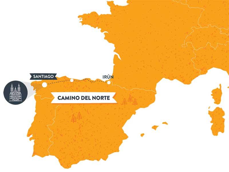 mapa-camino-de-santiago-camino-del-norte-caminoways