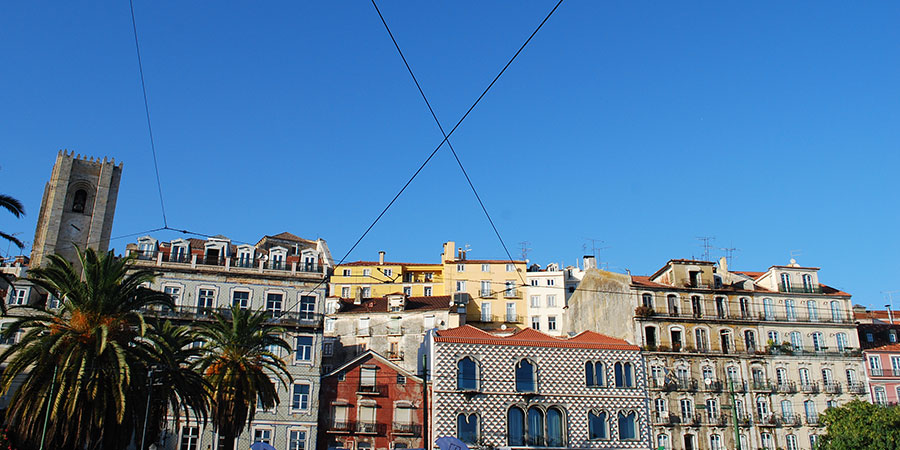 lisbon buildings camino de santiago camino portugues