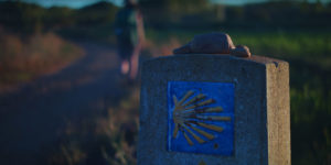 dawn-camino-pilgrim-marker-caminoways