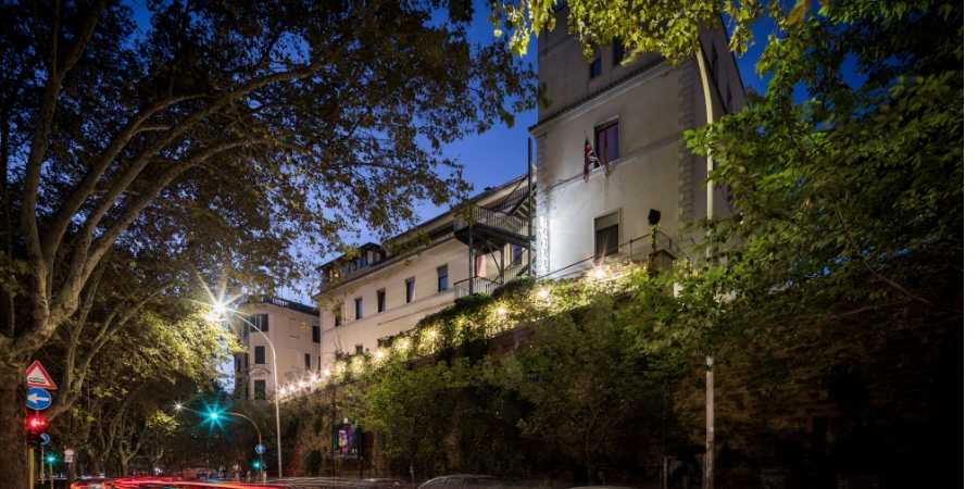 hotels-in-italy-rome-villa-rosa-caminoways.com