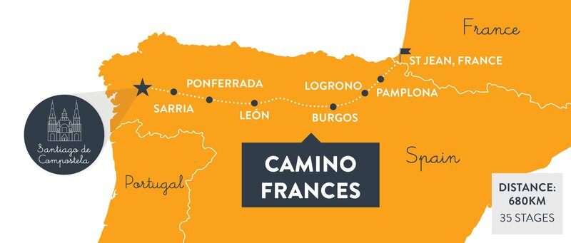 Camino-frances-map-espana