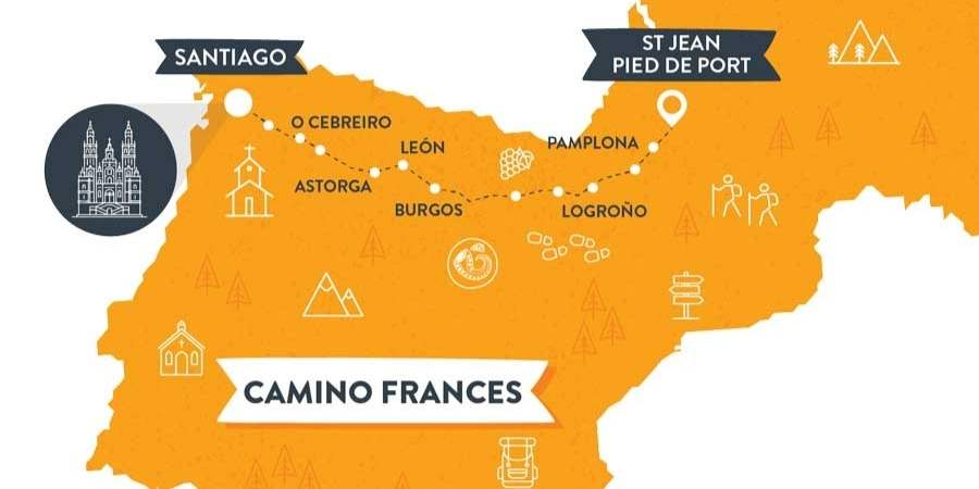 Camino-frances-map-caminoways.com