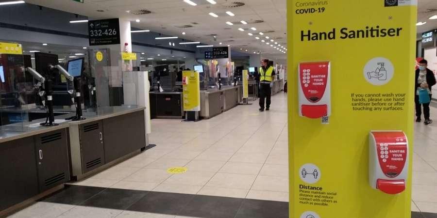 Dublin-airport-COVID-measures-caminoways.com