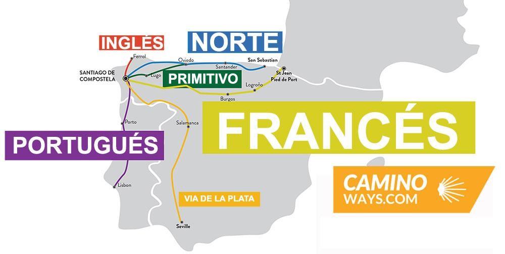 mejores rutas del camino de Santiago rutas favoritas caminoways