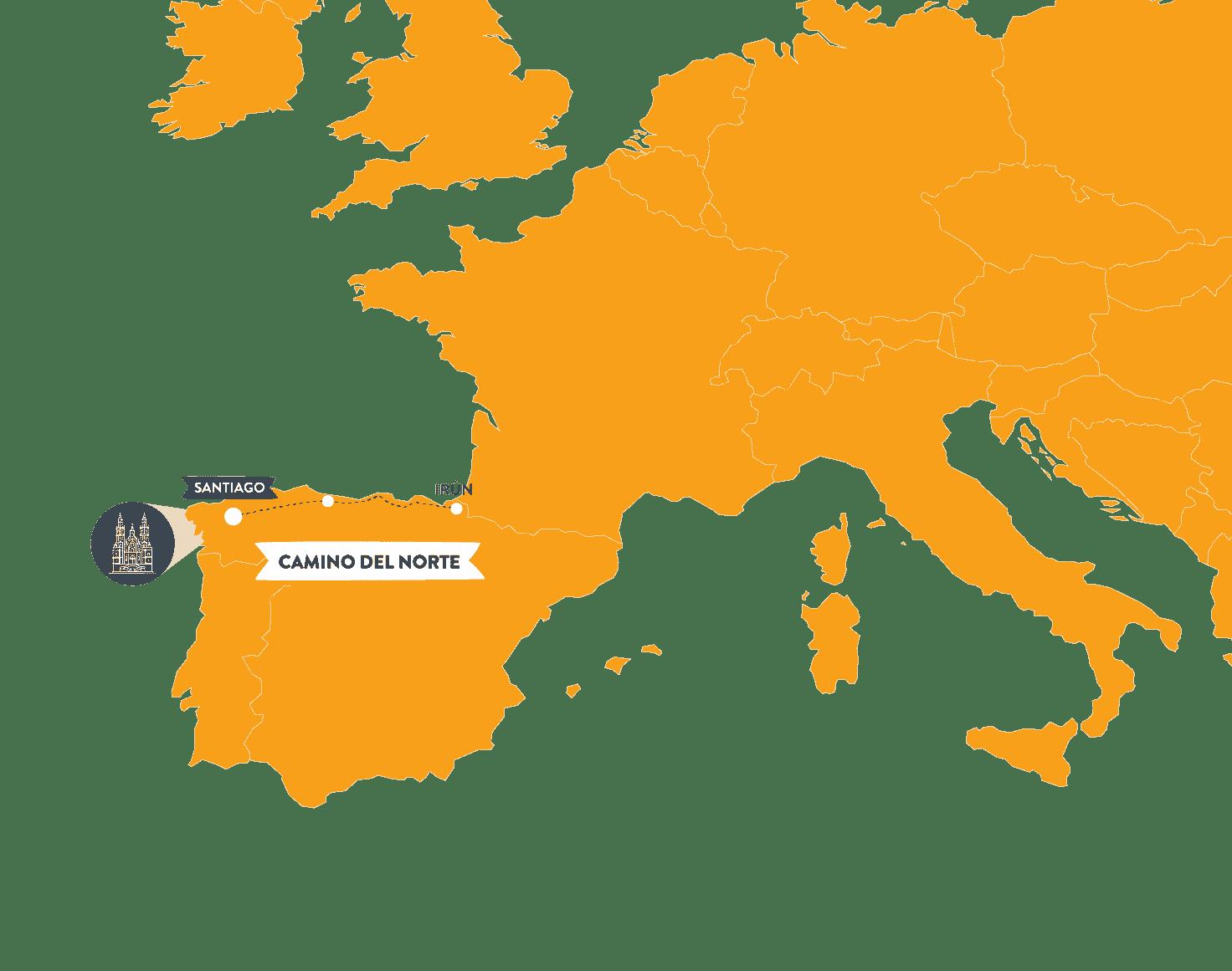 camino-del-norte-map