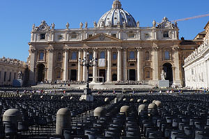 Audience-with-the-pope-Rome-Francigena-Ways