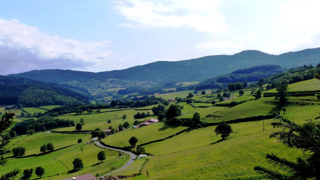 ClunyWay-view-monsols-caminoways- Cluny Way