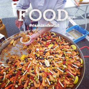 Food-fiesta-Paella-caminoways-walking-festival