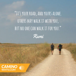 another rumi- walking quotes