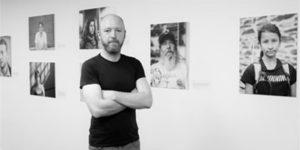 Joe Humans of the Camino exhibition caminoways