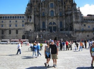 Joe-Judi-Camino-blog-Caminoways-Santiago-cathedral