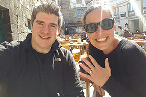 Lisa-Ercus-engaged-camino-de-santiago-portuguese-coastal-way