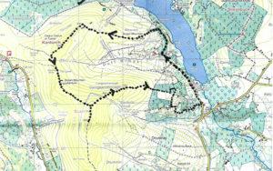 Map of long walk