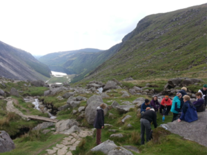 Caminoways monthly prep walk Glendalough 25th May lunch caminoways.com