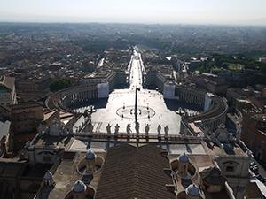 Rome-francigenaways-Aeriel-View-Italy