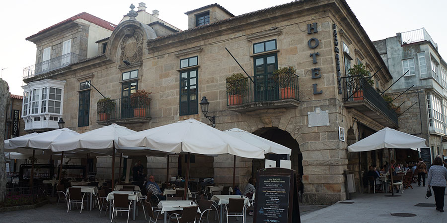 Baiona-streets-portuguese-coastal-camino-de-santiago-caminoways