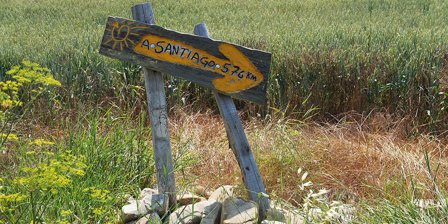 yellow-arrow-markings-camino-de-santiago-caminoways
