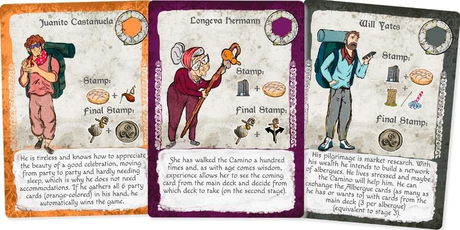 camino-game-cards-characters-caminoways.com
