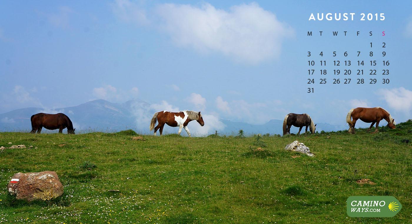 Desk top calendar – the yulian year.
