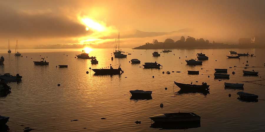sunset-in-baiona-cycling-the-portuguese-coastal-way
