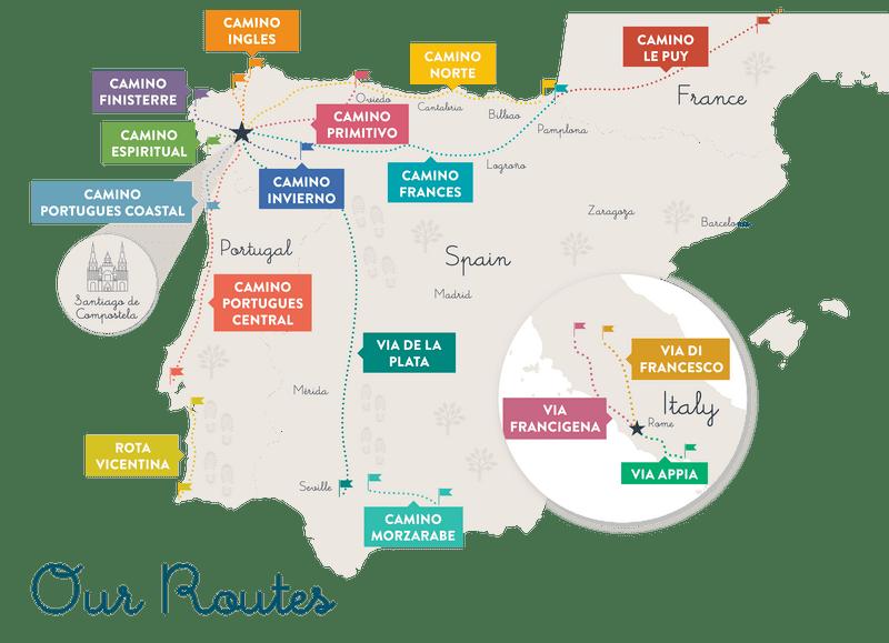 map-camino-de-santiago-routes-spain