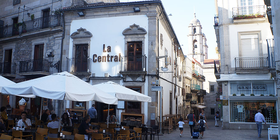 vigo-square-portuguese-coastal-camino-de-santiago-caminoways
