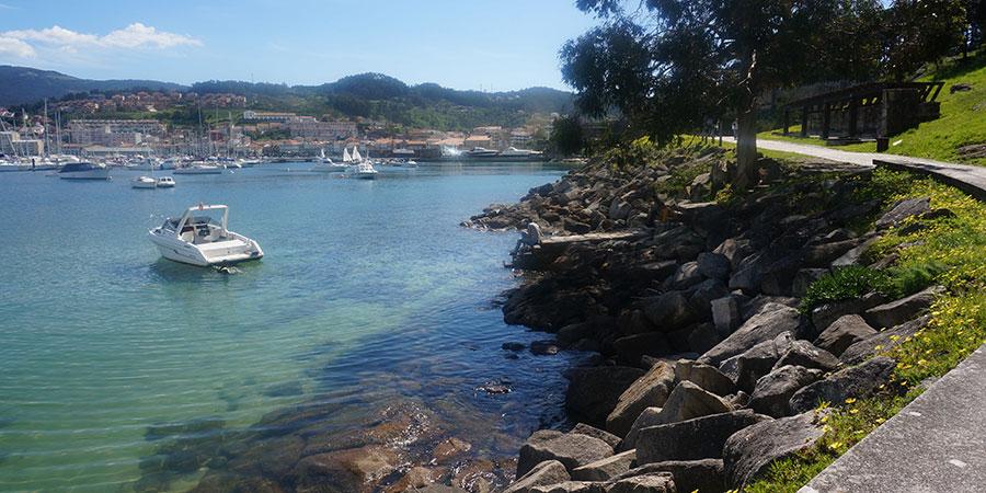 walk-Baiona-castle-portuguese-coastal-camino-de-santiago-caminoways