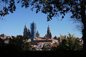 cathedral-view-alameda-park-santiago-camino-de-santiago-caminoways