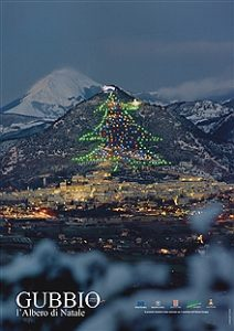 christmas-tree-gubbio-stfrancis-way-walking-italy-francigenaways