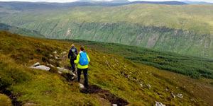 climb-kilimanjaro-prep-walk-Lugnaquilla-trekkingbug