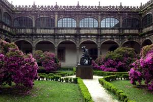 cloisters-university-library-santiago-de-compostela-caminoways