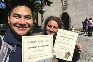 collecting-kerry-camino-pilgrim-certificate-ireland-camino