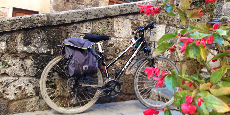 Cycling the Via Francigena from Lucca