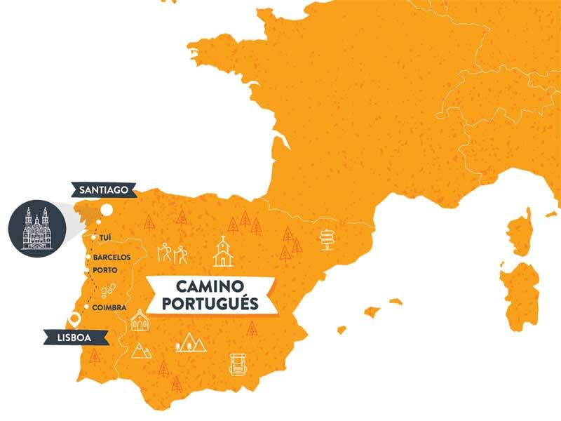mapa-camino-de-santiago-camino-portugues-caminoways