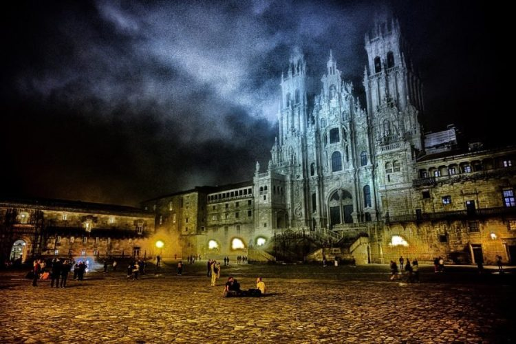 Photographing The Camino Santiago at Night