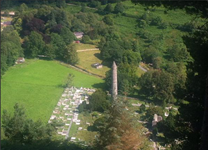 glendalough-tower-caminoways-walking-festival