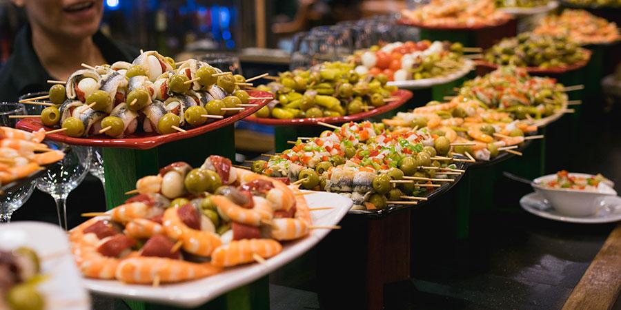 pintxos-bilbao-camino-food-caminoways