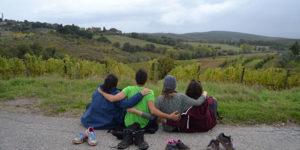 The Via Francigena on foot