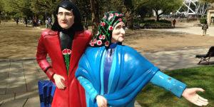 as-marias-park-statue-santiago-compostela-caminoways